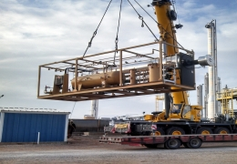 Skid mounted Packages Installation & Alignment