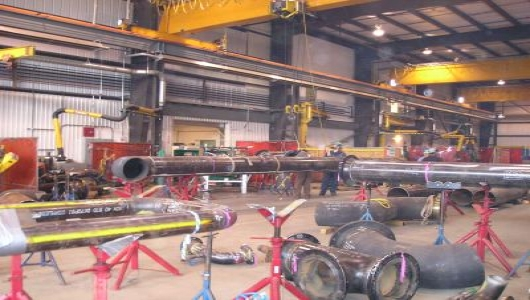 Pipe spool fabrication and welding